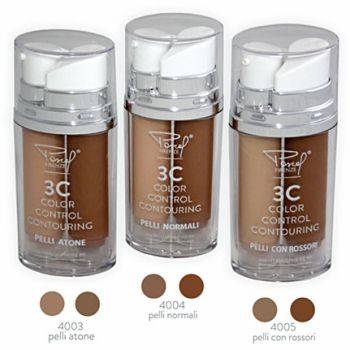 3C Colour Control Contouring Foundation 2x15ml